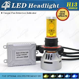 4S 3500LM H13 LED Headlight Bulb Conversion Kit DC12-24V with CE,RoHS