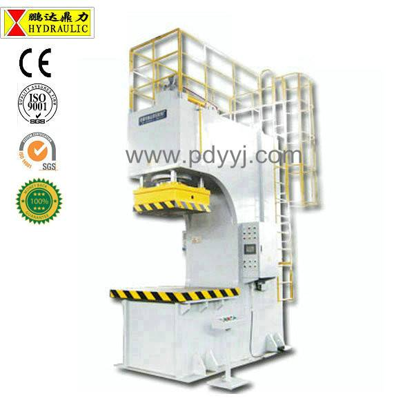 Pengda large scale c frame hydraulic press