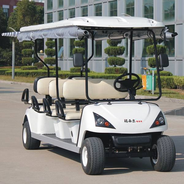 CE approve 6 seat electric golf bus car