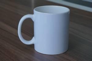 11oz sublimation white mug
