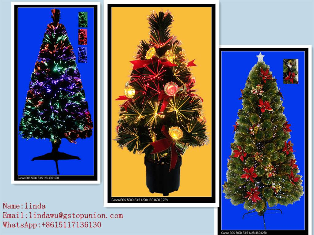 various kind Christmas Tree for Decoration