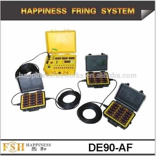 CE passed 90 channels hand control sequential and step fire Firing System (DE90)