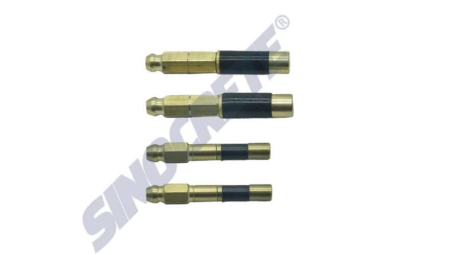 Brass injection packer