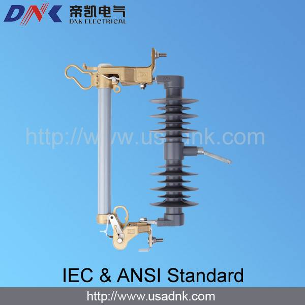 11kV dropout fuse cutout with silicon rubber insulator