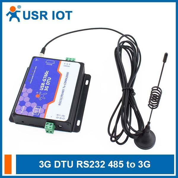 3G DTU,RS232/RS485 to CDMA 1x and CDMA EV-DO