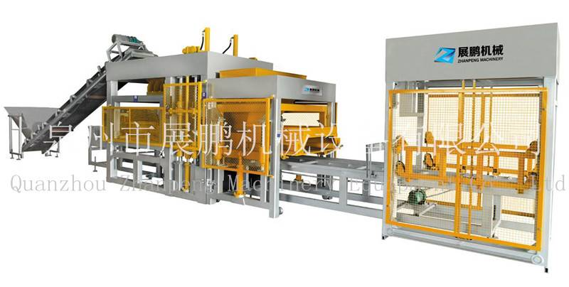 Fully-automatic Dual-feeding Block Making Machine