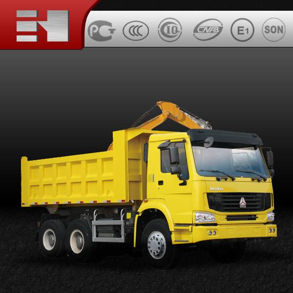 CHina heavy truck Sinotruck howo 10 wheel tipper truck with low price