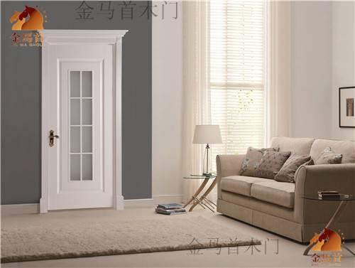 factory price modern style solid wood door