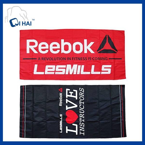 Printed Microfiber 20% Polyamide Suede Sports Towel (QAH99809)