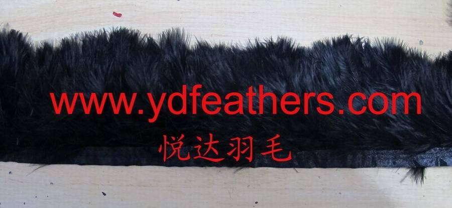 Turkey Feather Fringe