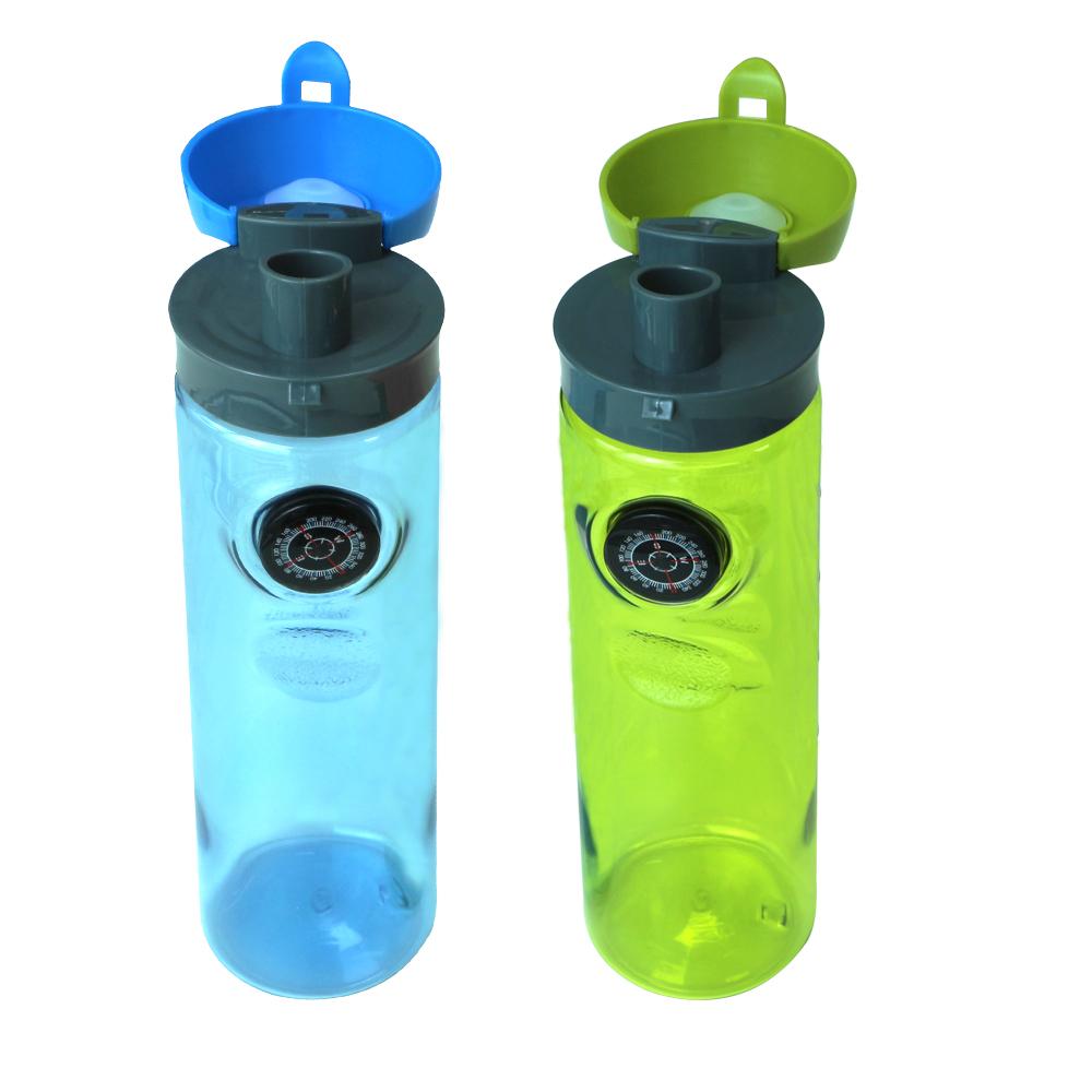 700ml Compass water bottle PET material bottle