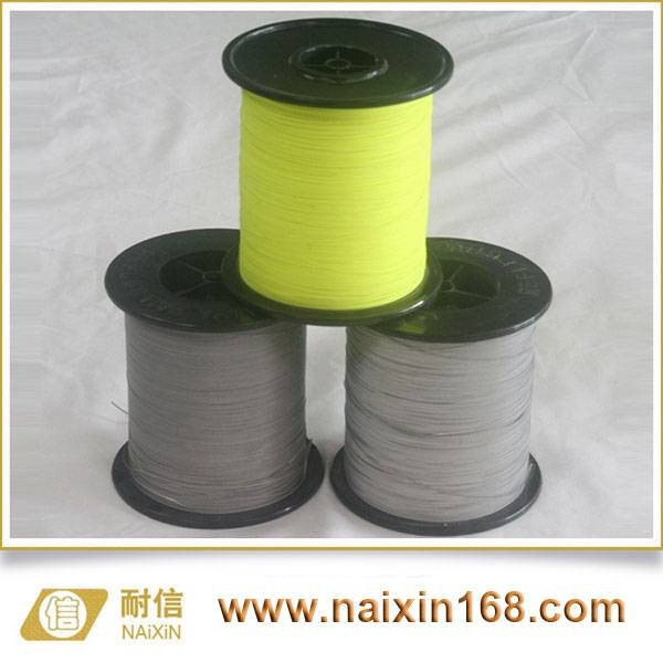 Reflective sewing thread