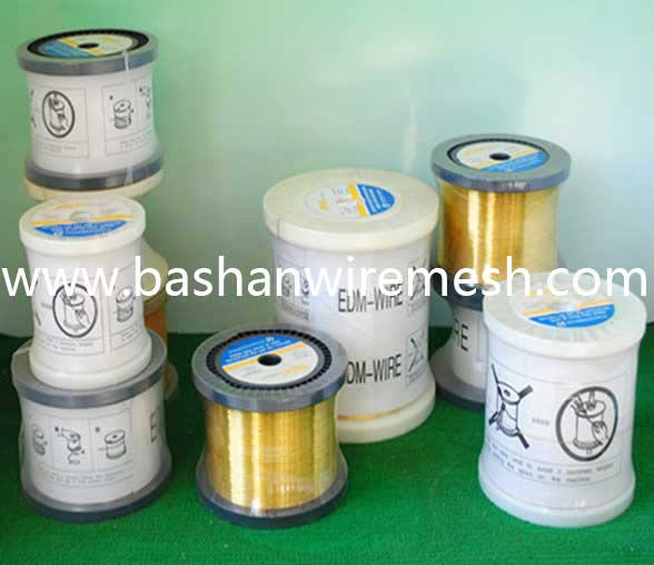 High Quality Brass Copper Wire Manufacturer/ Bashan EDM Brass Wire