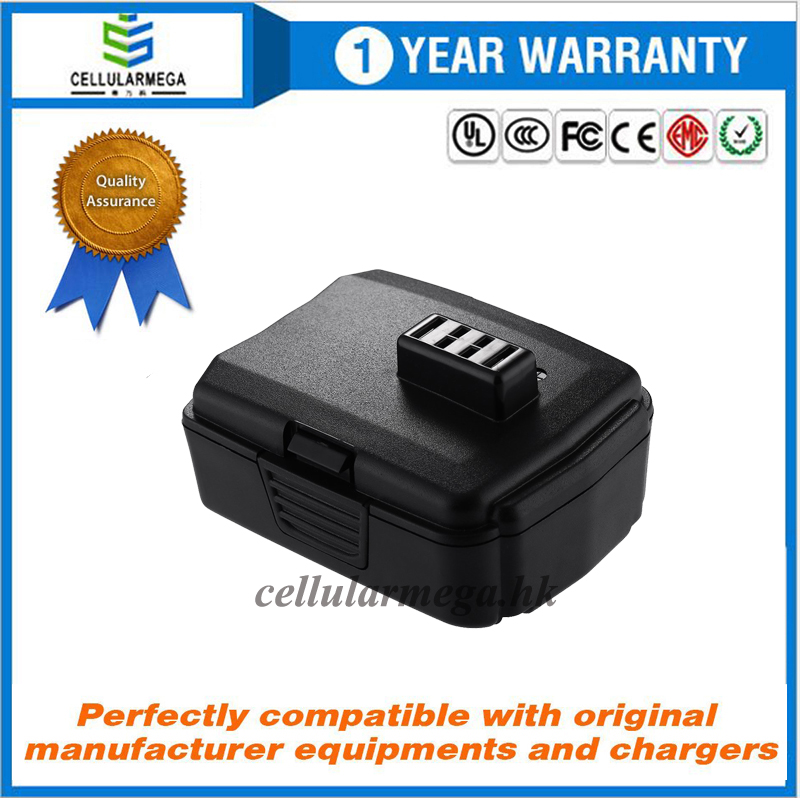 Cellularmega 12V 2000mAh Lithium Power tool Battery for RYOBI CB120L CB120N CB121L BPL-1220 13050300