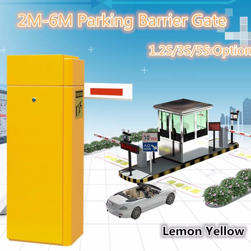 Remote Control Barrier Operator/Toll Gate Opener/Automated Barrier Entry Control System With 2-6M Ar