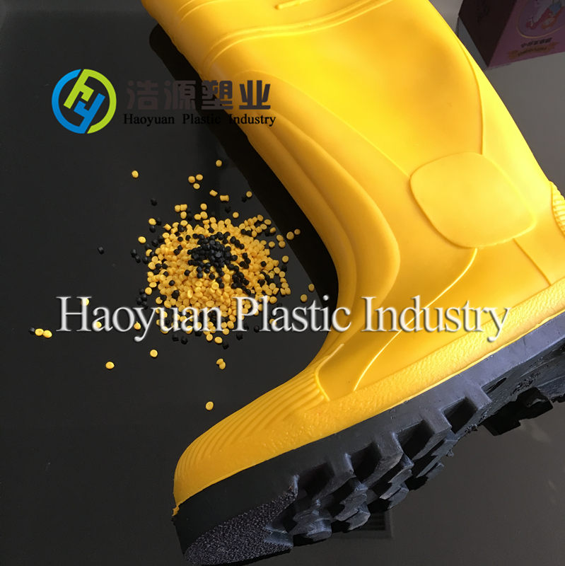safety gumboots PVC plastic raw materials