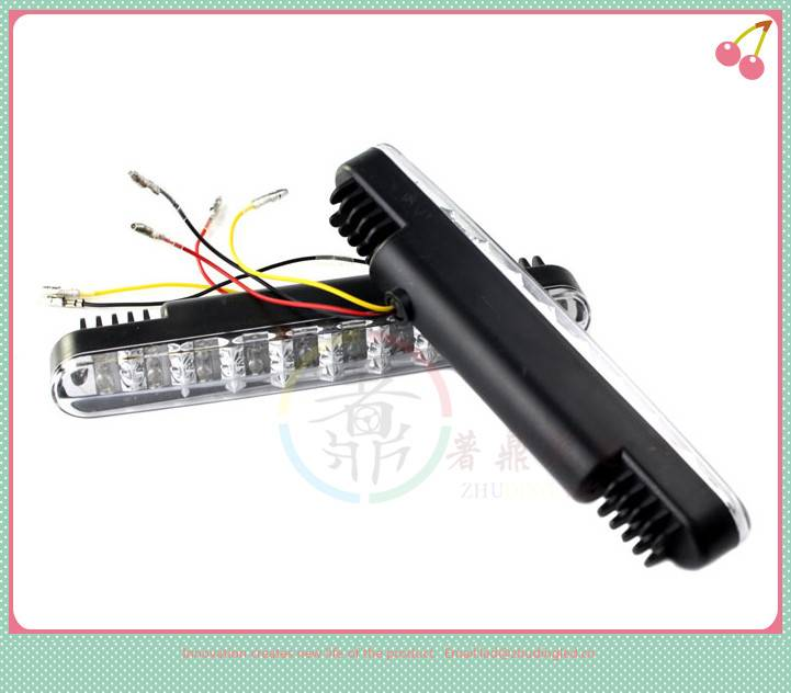 factory direct  mitsubishi pajero car 5w flexible led drl/ daytime running light