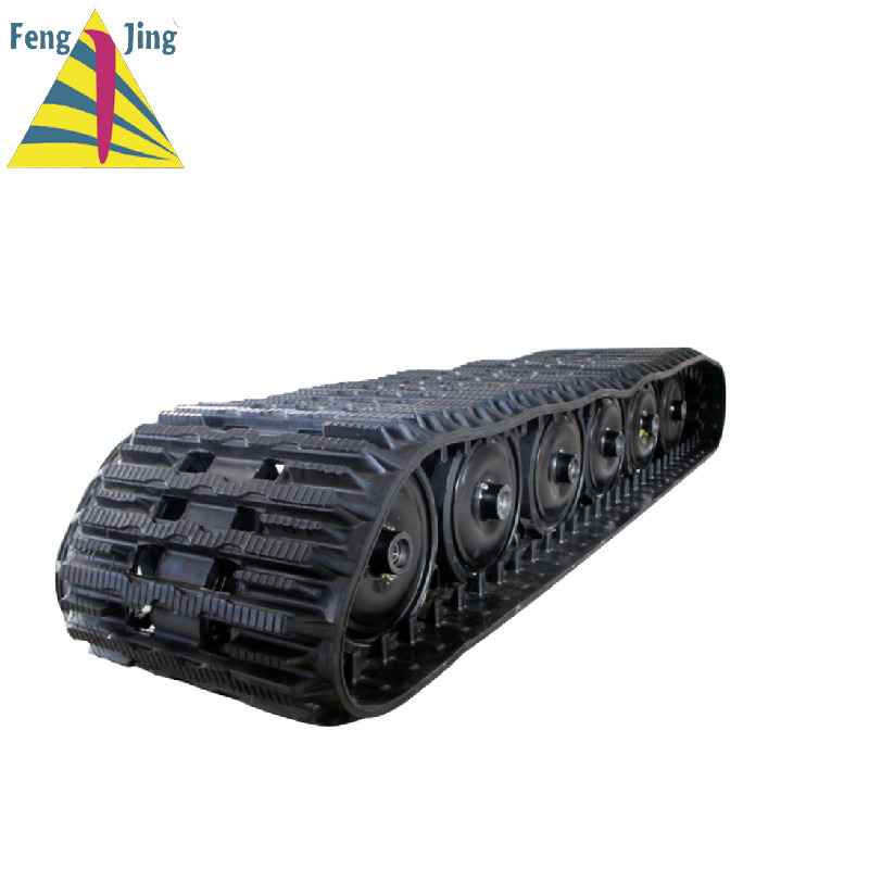 Rubber track for Hagglunds BV206