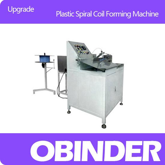 Obinder upgrade plastic spiral coil forming machine OBFJ300