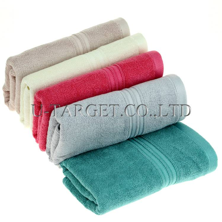 Free Shipping Wholesale 2014 New Brand Soft Super Absorbent 100% Bamboo Fiber Beach Travel Terry Tow