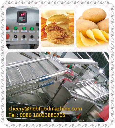 sh factory directly wholesale new design potato chips machine