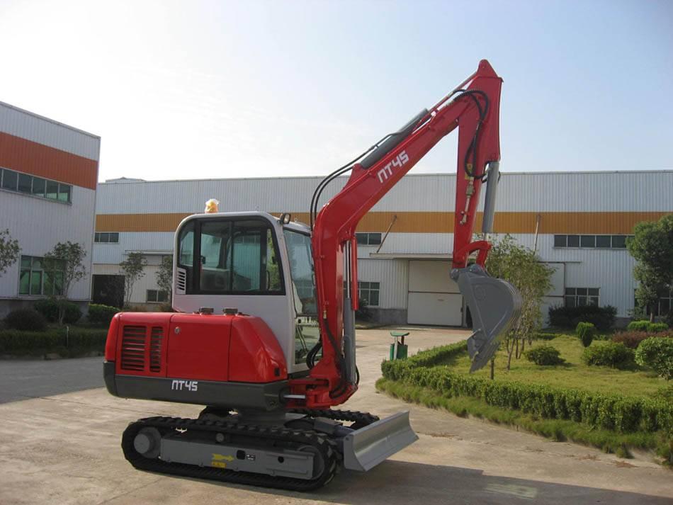 0.8-6 Ton Mini Crawler Excavator