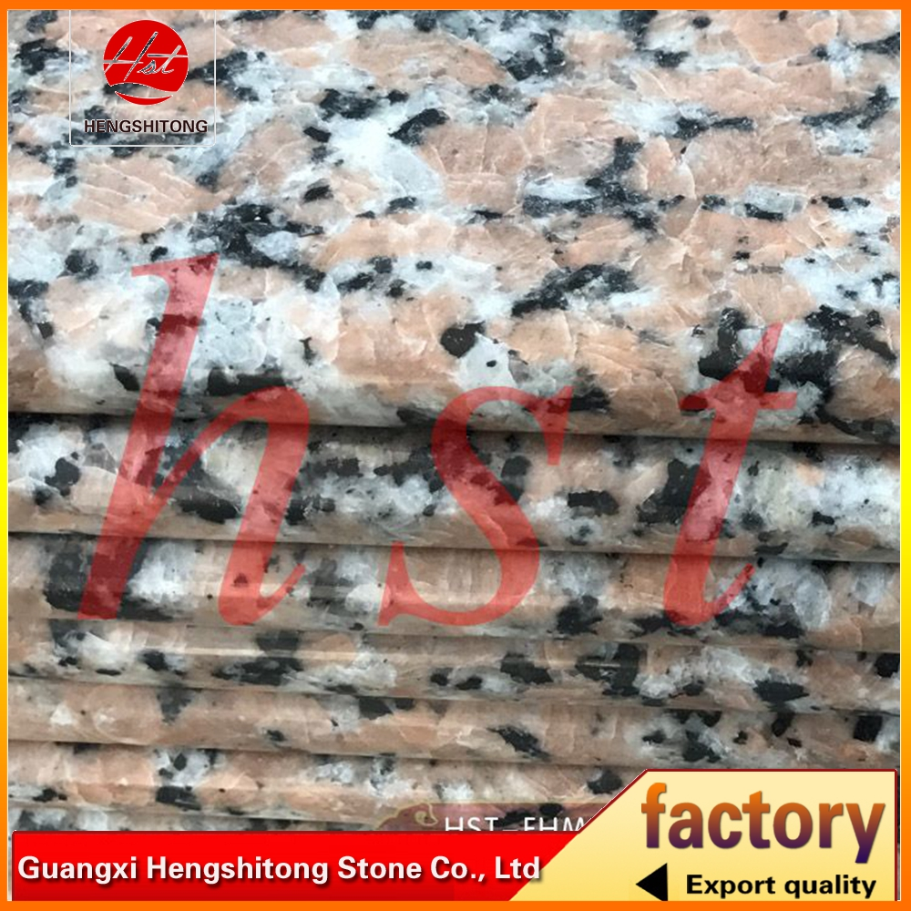 polished surface pink porrino granite tiles