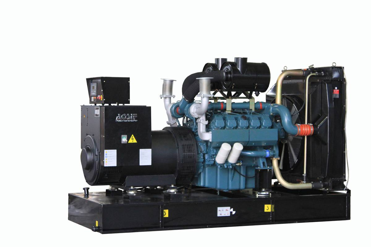 doosan soundproof type 80kva generator