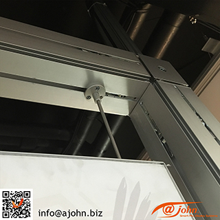 AJOHN double vertical support cable rods