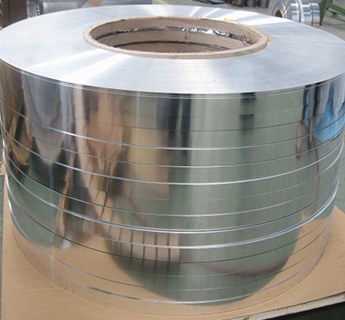 copolymer coated aluminum strips