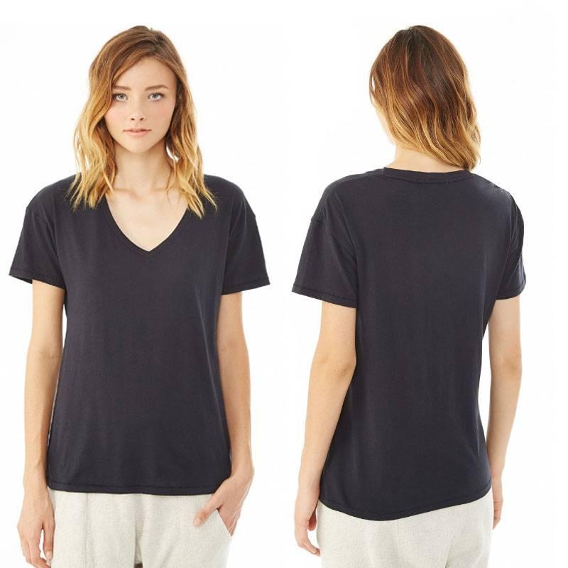Ladies short sleeve blouses summer t shirt for girls
