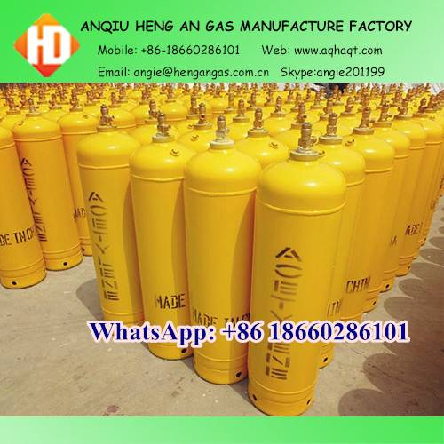 40 Liters acetylene cylinders