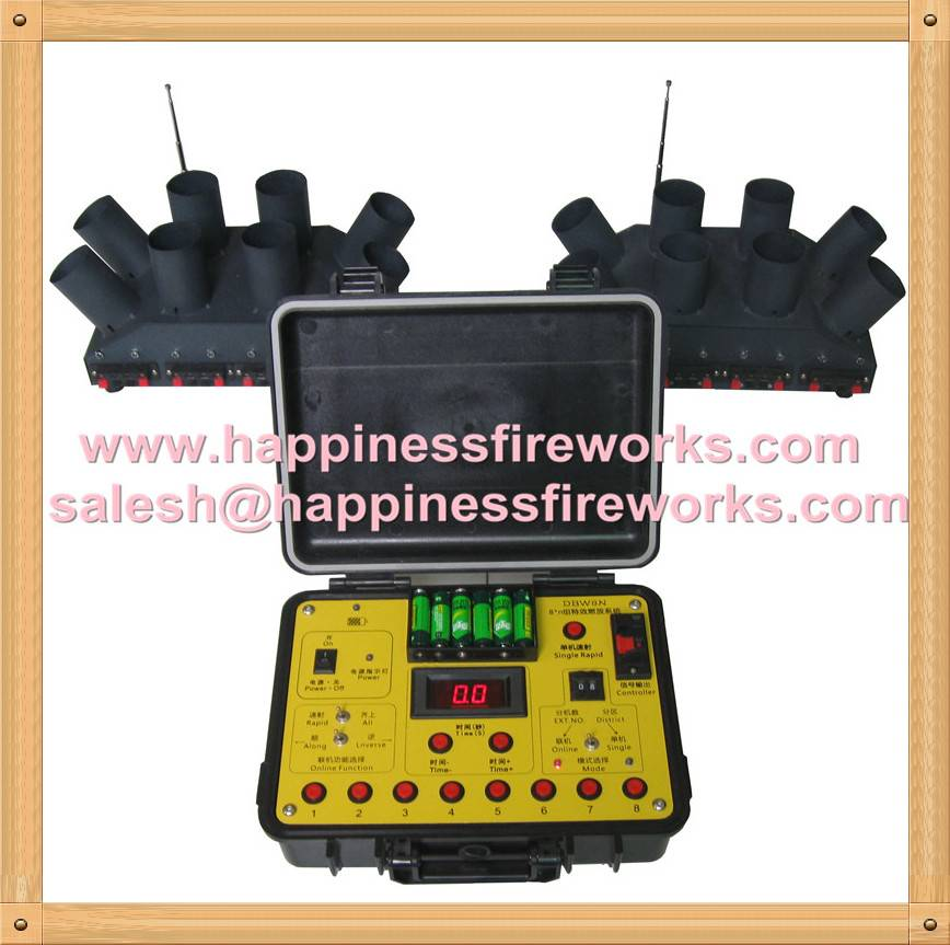 16 cues wire control stage special effects firworks firing system salvo&sequential(DBW8B-16)