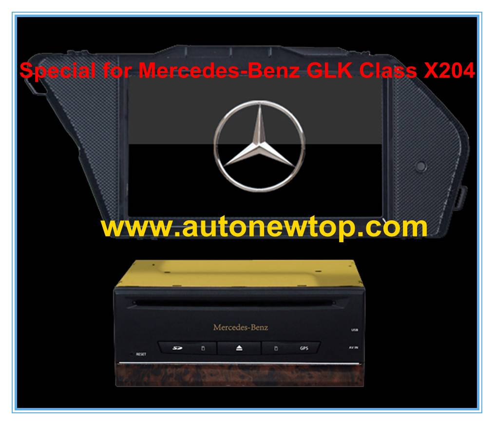 car DVD player for Benz GLK300