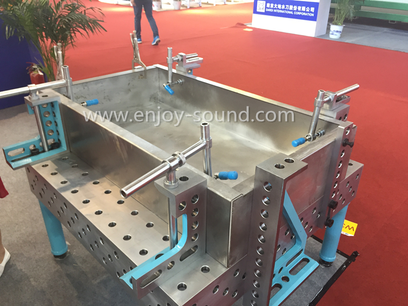 Modular welding table for sale