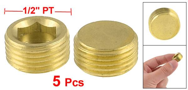 Brass Socket head plug