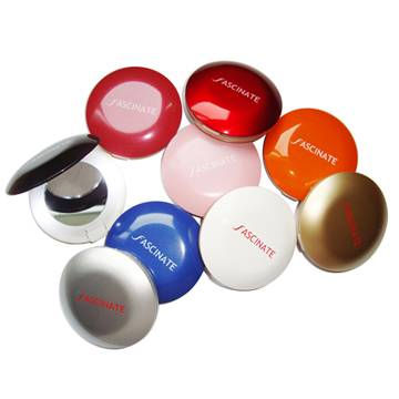 Promotional gift mirror with various color