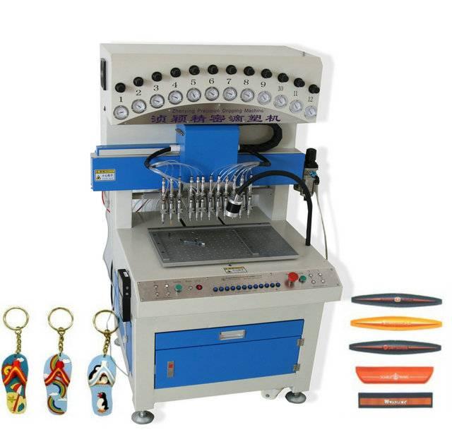 soft pvc machine 12 colors label dispenser