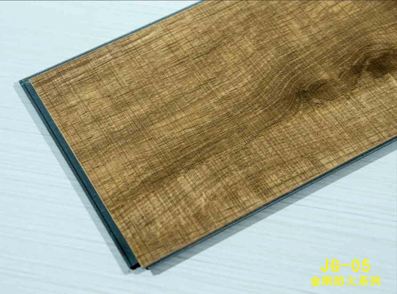 Interior 100% Waterproof Fireproof Stone Plastic Vinyl Plank Floor Tile Unilin Click SPC Floor