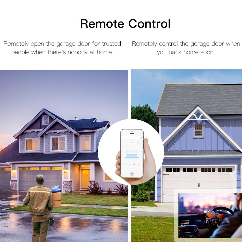 Enerna IoTech WiFi Smart Automation Garage Door Opener Remote Access Control