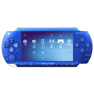 SONY PSP 1.5 Value Pack with 300 games(blue)