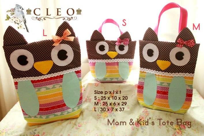Cute Kids Tote Bag