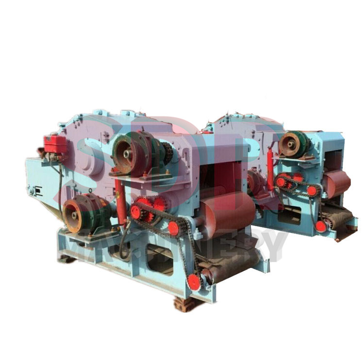 Shindery wood chips making machine,drum wood chipper machine