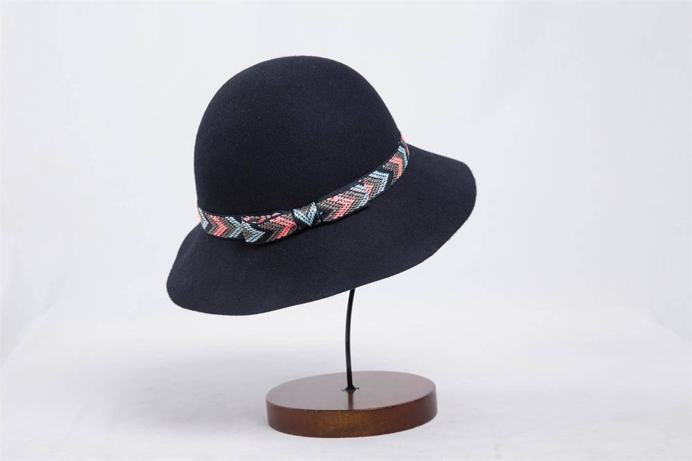 Winter Ladies Wool Felt Hat (FW010171)