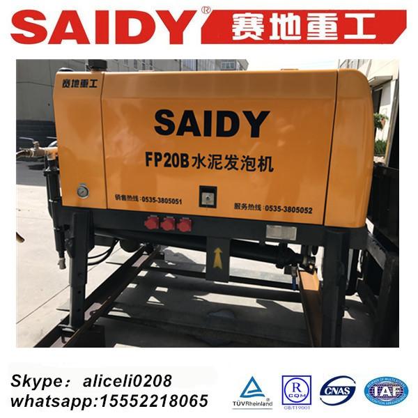 machinery for foam concrete