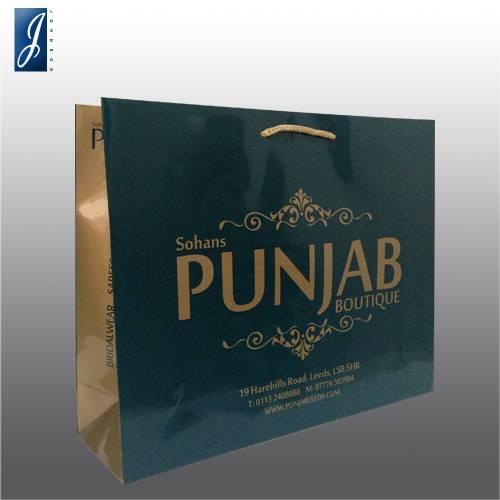 Customized big gift bag for PUNJAB