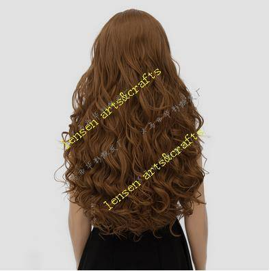 long brown hair, top quality, most fashion style