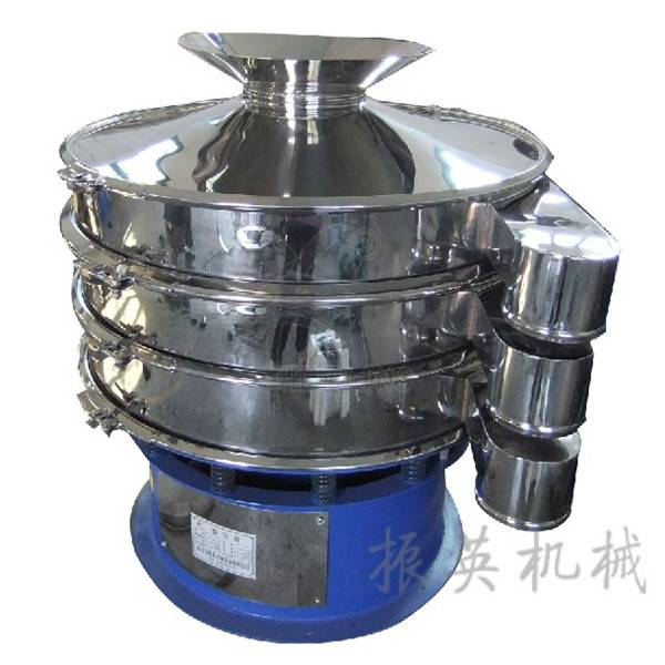 Stainless steel vibrating flour screening machine