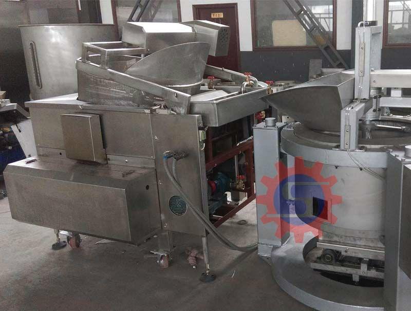 Fried food production lineFryerfrying machine