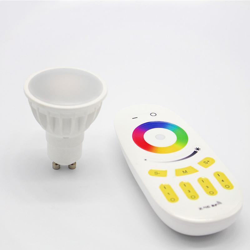 2.4G AC100-240V 9W RGBW LED E27,E26 LED light bulb, led globe,wifi bulb,rechangable color GU10 led l